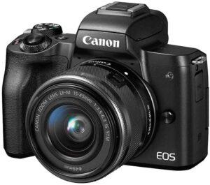 Canon EOS M50 Compatta, elegante e intuitiva esperienza di ripresa