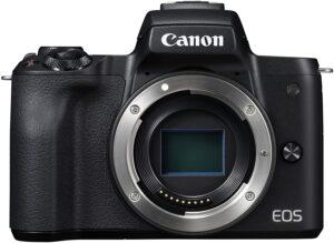 Canon EOS M50 Tecnologia innovativa per risultati di alta classe.