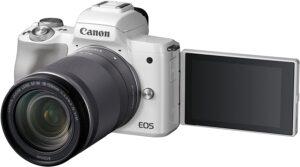 Canon EOS M50 Puoi scattare foto straordinarie e filmati in 4K