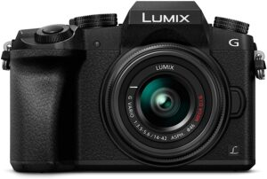 Mirrorless lumix g7 Fotocamera digitale con sensore di immagine LiveMOS da 16 MP.