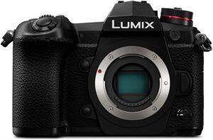 Panasonic Lumix Mirrorles G9 Mirino OLED 0.83x e LCD status