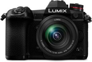 Panasonic Lumix Mirrorles G9 obiettivo Lumix 12-60 mm