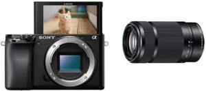 Obiettivo con Zoom 55-210 mm F 4.5-6.3 per fotocamere Sony Alpha con sensore APS-C