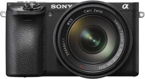Sony Alpha a6500 Kit con obiettivo SEL 16-70 Zeiss mm Stabilizzazione integrata a cinque assi