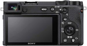 Sony Alpha a6600 Processore Bionz X con LSI frontale e registrazione video 4K integrata.