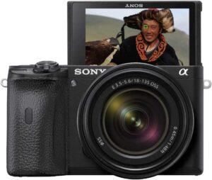 Sony Alpha a6600 Video ad alta risoluzione 4K HDR e Slow motion Full HD (120p) con Autofocus.