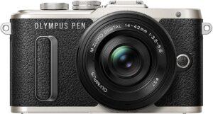 Olympus PEN PL8 Lo stabilizzatore d'immagine nell'alloggiamento garantisce foto e video nitidi in ogni situazione di ripresa