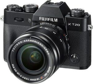 Fotocamera digitale Fujifilm X-T20 a ottiche intercambiabili, sensore APS-C X-Trans CMOS III 23.6x15.6mm da 24,3MP