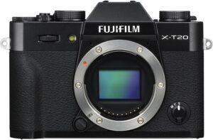 Fuji X-T20 Simulazione pellicola, Filtri avanzati, Flash integrato pop-up, Modalità Silenziosa