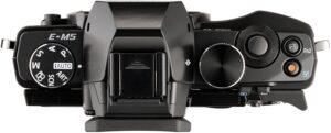Olympus M5 Stabilizzazione ultra-efficace dell'immagine utilizzando la migliore 5 assi del mondo