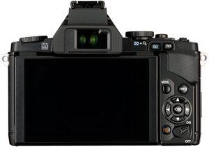 Olympus m5 LCD Tilt (3,0 pollici schermo inclinabile OLED, pannello touchscreen con una risposta veloce per la messa a fuoco)