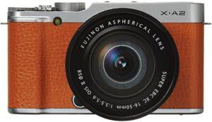 Fujufilm X-A2 Batteria a lunga durata per scattare fino a 410 foto Schermo LCD inclinabile a 175°