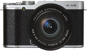 Fuji X-A2 Sensore CMOS APS-C Obiettivo FUJINON XC16-50 MM F3.5-5.6 OIS II