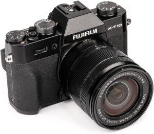 fujifilm X-T10 Mirrorles Contenuto confezione: Batteria al Litio NP-W126, Carica batteria BC-W126, Tracolla, CD-ROM